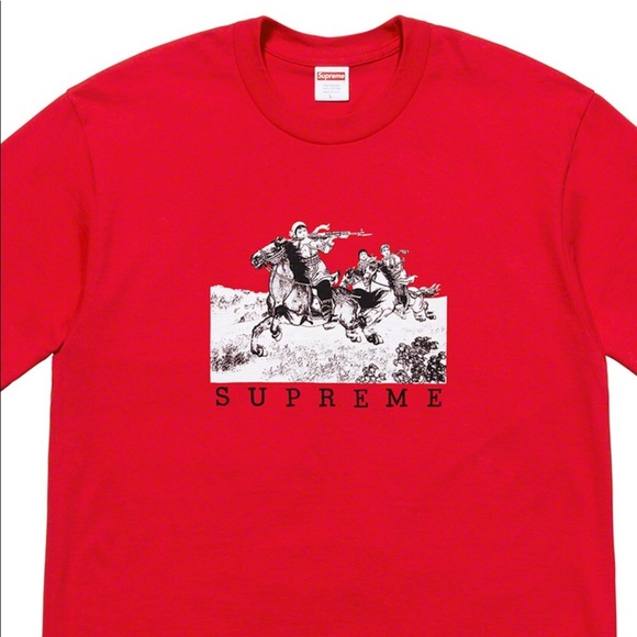 5cd7fb44131c Supreme Shirts | Rider Tee Red Xl Authentic Tshirt Red | Poshmark